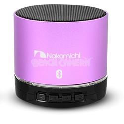BT06S Series Round Bluetooth Speaker (Purple)