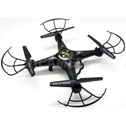 Quadrone Quadcopter 3-In-1 w/ Phone or Remote Control, 4 Channel 2.4GHz RC Drone