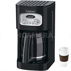 DCC-1100 12-Cup Programmable Coffeemaker - Black with Stainless Accents