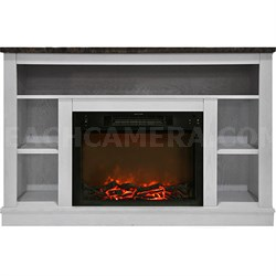 47.2 x15.7 x32.5  Seville Fireplace Mantel with Insert
