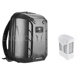 Phantom 4 Intelligent Flight Battery + Hardshell Backpack for DJI Phantom 4