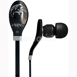 Tupac In-Ear Headphones w/ Mic and Remote - RBS-8490