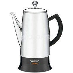 Classic Stainless 12-Cup Percolator (PRC-12) - Factory Refurbished