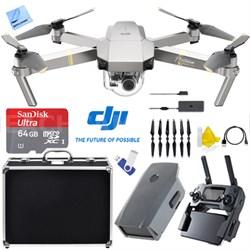 Mavic Pro Platinum Quadcopter Drone 4K Camera Wi-Fi +Ultimate 2nd Battery Bundle