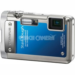 Stylus Tough 8010 Waterproof Shockproof Freezeproof Digital Camera (Blue)