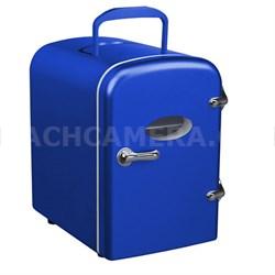 Mini Compact Refrigerator - Blue