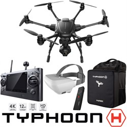 Typhoon H RTF Hexacopter Drone Wizard Wand SkyView FPV Backpack Command Bundle