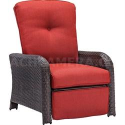 Strathmere Luxury Recliner in Crimson Red - STRATHRECRED