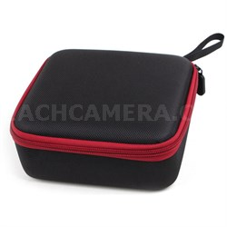 Mini Carry Case Bag for DJI Spark - Black with Red Trim