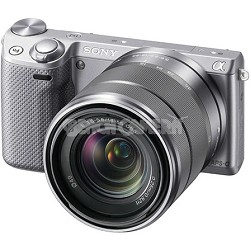 NEX-5RK/S Compact Interchangeable Lens Digital Camera with 18-55 Lens (Silver)