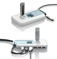 USB 2.0 Plus Hub (7 Port) - White