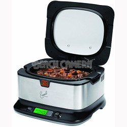 Emeril by T-fal 6-Quart Slow Cooker w/ Automatic Temperature Control - OPEN BOX