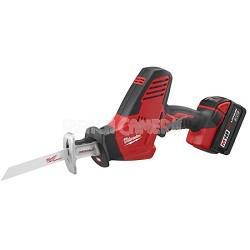 2625-21 HACKZALL M18 Cordless LITHIUM-ION One-Handed Recip Saw Kit