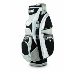 Callaway Golf Women\'s Sport Cart Bag Black/Silver/White 5110040