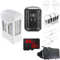 Phantom 4 Series FPV Flight Accessory Kit With Extra Battery