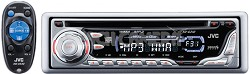KD-G310 In-Dash CD Player w/ Remote, MP3 Playback and CD Changer Controls