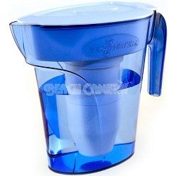 6-Cup Space Saver Water Filtration Pitcher