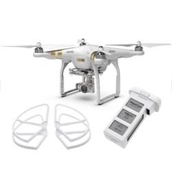 Phantom 3 Professional 4K Camera Drone w 3-Axis Gimbal Extra Battery Prop Guards