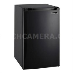 4.4 Cu. Ft. Compact Fridge with Freezer in Black - MCBR440B2