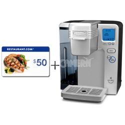 Refurbished SS-700 Keurig Brewing Coffeemaker $50 Restaurant.com gift card!!