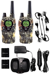 X-Tra Talk GMRS/FRS 2-Way Radio Value Pack With 18-Mile Range