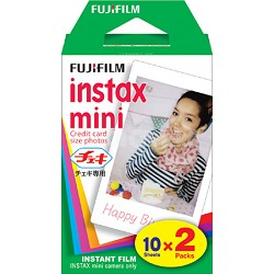 INSTAX MINI Twin Pack of 10 Total 20 Sheets of Instant Film