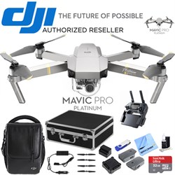 Mavic Pro Fly More Combo Expedition Kit (CP.PT.00000069.01) w/ 3 Battery Bundle