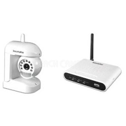 Motion/Audio Sensor Wireless (2.4GHz) Color Camera Kit with Night Vision (AVWATC