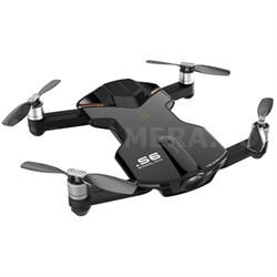 S6 Quadcopter Black Mini Pocket Drone 4K Camera (Outdoor Edition) (OPEN BOX)