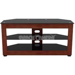 Fiera Warm Cherry TV Stand for TVs up to 50 inches