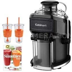 CJE-500 Compact Juice Extractor w/ Tugo Cup Mug & Smoothies Bible
