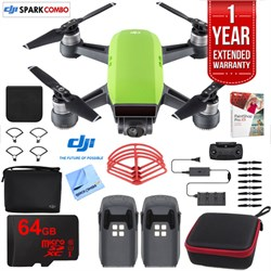 SPARK Fly More Drone Combo Meadow Green - CP.PT.000903 Ultimate Bundle