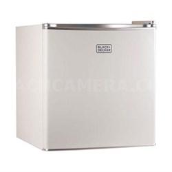 Compact Refrigerator Energy Star Single Door Mini Fridge with Freezer - BCRK17W