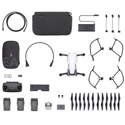 Mavic Air Quadcopter Drone - Arctic White Fly More Combo