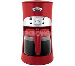 Eclectrics Coffeemaker - 4011 Moroccan Red