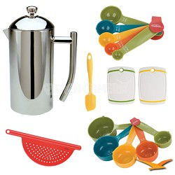 Ultimo French Presses  17 oz Deluxe Bundle