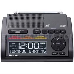Consumer Radio Weather Radio All Hazard Radio Gray (WR400)
