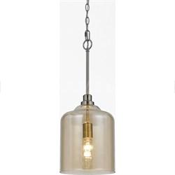 Elements Vision Glass Pendant 1-60W Standard Bulb 24 HX11.5 D Hardwire Only