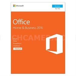 Office Home and Business 2016 for Window - T5D-02776