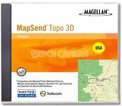MapSend 3-D Topo Software for USA