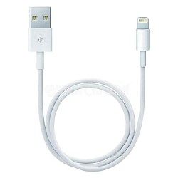 Apple Certified Lightning 8-Pin Charging and Sync Cable - White
