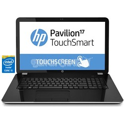 "Pavilion TouchSmart 17.3"" 17-e160us Notebook PC - Intel Core i5-4200M Processor"