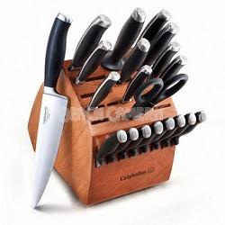 Contemporary Cutlery 21-pc. Knife Block Set - 1808009