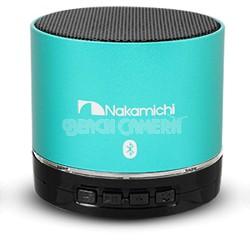 BT06S Series Round Bluetooth Speaker (Emerald Green)