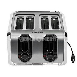 TR1400SS 4-Slice Stainless-Steel Toaster
