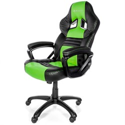 Monza Series Gaming Racing Style Swivel Chair - Green