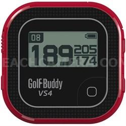 VS4 Golf GPS - Black/Red (GB7-VS4-BLKRED)