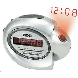 NRC-162 Projection Alarm Clock With AM/FM Radio & Snooze