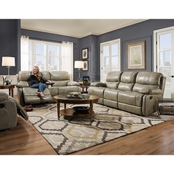 Austin 2pc Living Set: Sofa Loveseat