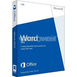 Word 2013 Key Card Non-Commercial (1PC/1User)